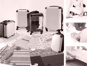 ゆがみのない着替えスーツケース・リュックサックを1個から作成