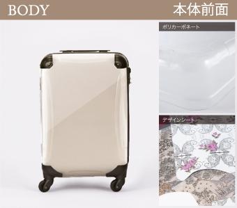 軽量、耐衝撃性スーツケース