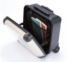 スーツケースのインナー収納