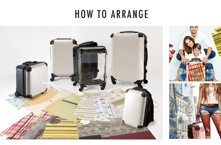 キャラート アートスーツケース専用 着せ替えデザインシート
